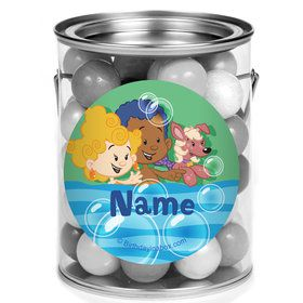 Bubble Friends Personalized Mini Paint Cans (12 Count)