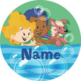 Bubble Friends Personalized Mini Stickers (Sheet of 24)