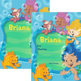 Bubble Friends Personalized Thank You (Each)