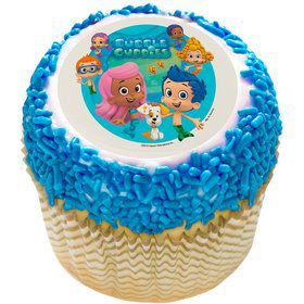 "Bubble Guppies 2"" Edible Cupcake Topper (12 Images)"