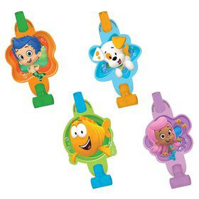 "Bubble Guppies 5"" Blowouts (8 Pack)"
