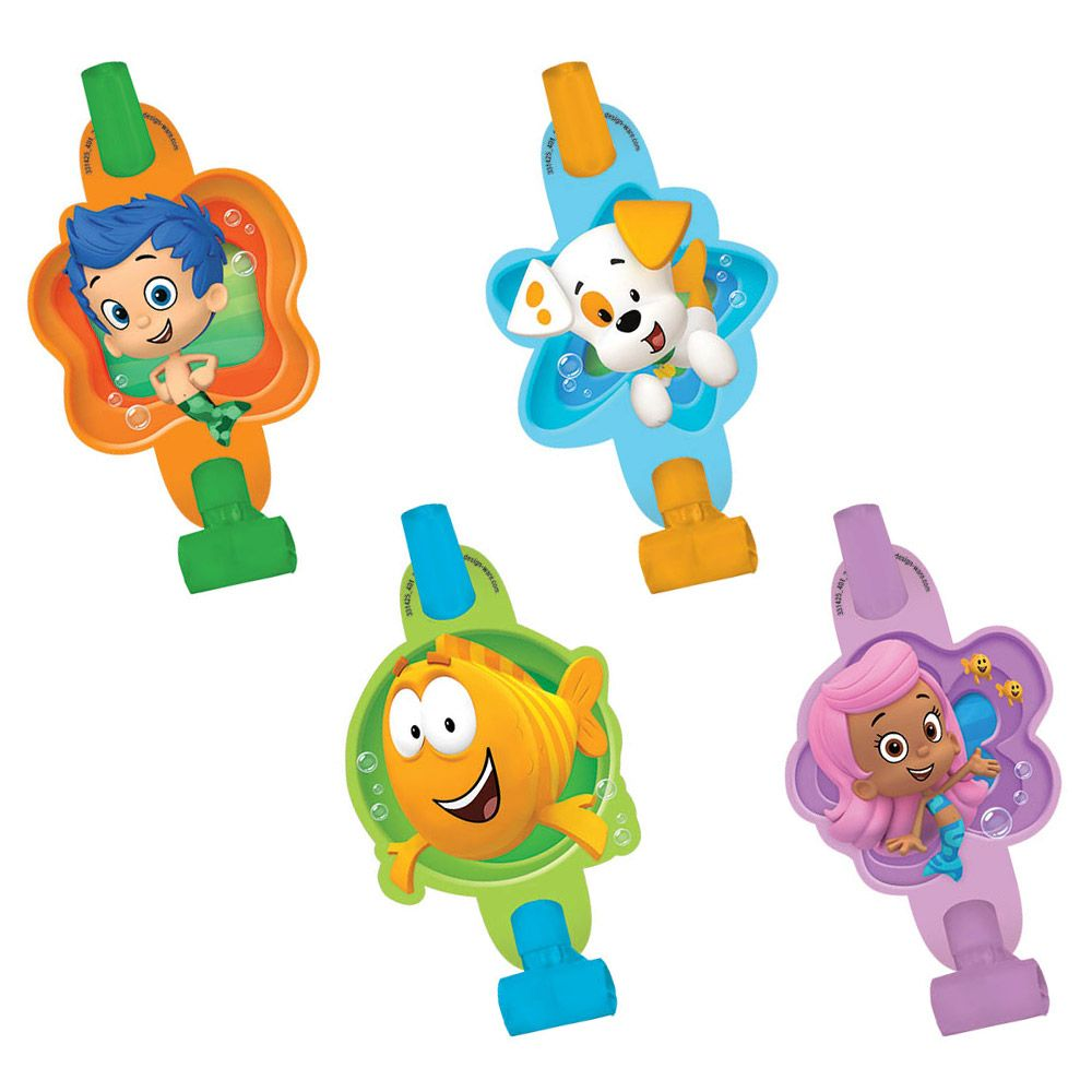 "Bubble Guppies 5"" Blowouts (8 Pack) BB331425"