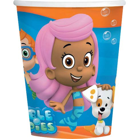 Bubble Guppies 9 Oz Cups (8 Pack) - Party Supplies BB4991425