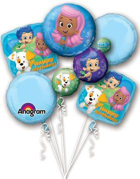 Bubble Guppies Balloon Bouquet (Each)