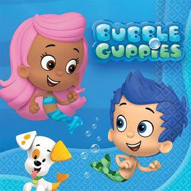 Bubble Guppies Beverage Napkins (16 Pack)