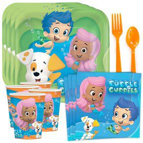 Bubble Guppies Birthday Party Standard Tableware Kit Serves 8