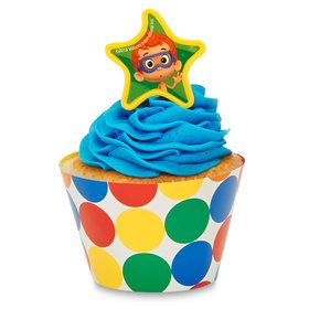 Bubble Guppies Cupcake Wrapper Pick Kit