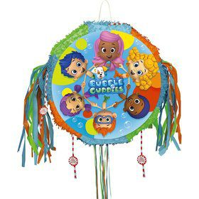 Bubble Guppies Drum Pull Pop-Out Pinata (Each)