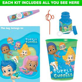 Bubble Guppies Favor Kit (Each)