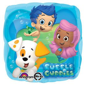 Bubble Guppies Foil Balloon