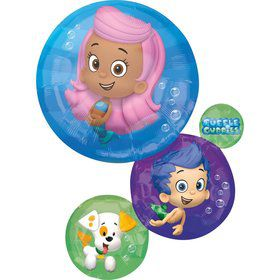 Bubble Guppies Jumbo Foil Balloon