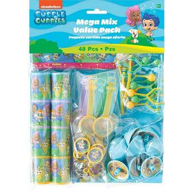 Bubble Guppies Mega Mix Favor Pack (For 8 Guests)