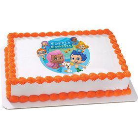 Bubble Guppies Quarter Sheet Edible Cake Topper (Each)