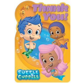 Bubble Guppies Thank You Cards (8 Pack)
