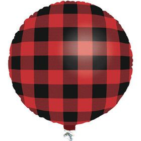 Buffalo Plaid 18 Balloon (1)