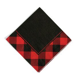 Buffalo Plaid Lunch Napkins (16)