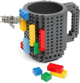 Build-On Brick Mug (Each)