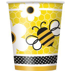 Bumble Bee 9oz Cups (8 Pack)