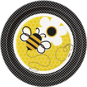 Bumble Bee Cake Plates (8 Pack)