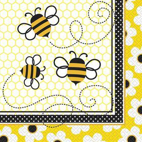 Bumble Bee Luncheon Napkins (16 Pack)