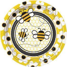 Bumble Bee Luncheon Plates (8 Pack)