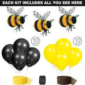 Bumble Bee Party Decoration Kit