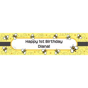 Bumble Bee Personalized Banner (each)