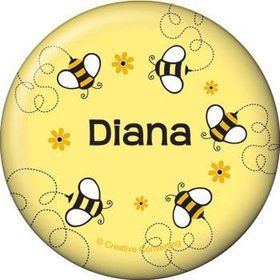 Bumble Bee Personalized Button (each)