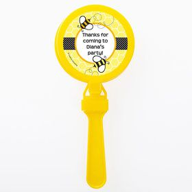 Bumble Bee Personalized Clappers (Set of 12)