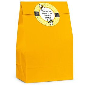 Bumble Bee Personalized Favor Bag (Set Of 12)