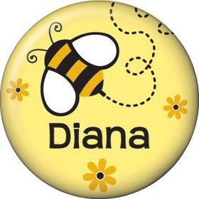 Bumble Bee Personalized Mini Magnet (each)