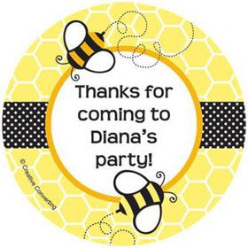 Bumble Bee Personalized Stickers (sheet of 12)