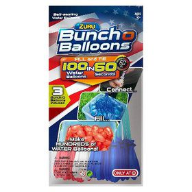 Bunch O Balloons (3 Pack - Red, White, and Blue)