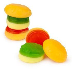Burger Gummy Candy (40 count)