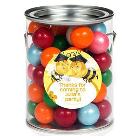 Busy Bee Personalized Paint Can Favor Container (6 Pack)