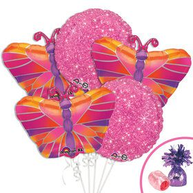 Butterfly Birthday Balloon Kit