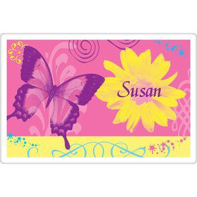 Butterfly Birthday Personalized Placemat (each)