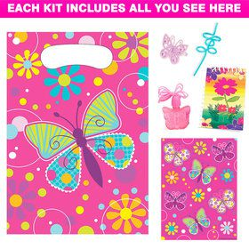 Butterfly Deluxe Favor Kit (for 1 Guest)