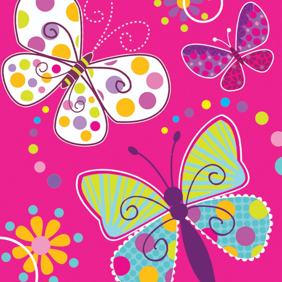Butterfly Sparkle Luncheon Napkins (16 Pack) BB665691