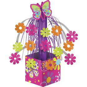 Butterfly Sparkle Mini Foil Cascade Centerpiece (Each)