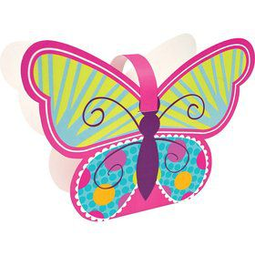 Butterfly Sparkle Shaped Treat Boxes (4 Pack)