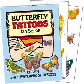 Butterfly Tattoo Book (each)