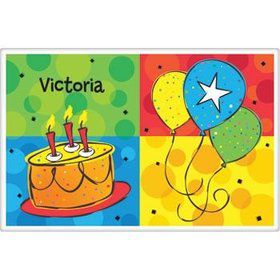 Cake Celebration Personalized Placemat (each)