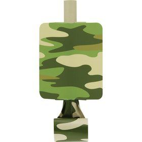 Camo Army Blowouts (8 Pack)