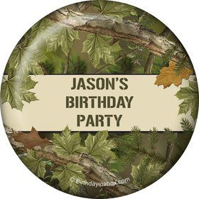Camo Personalized Button (each)