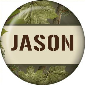 Camo Personalized Mini Magnet (each)