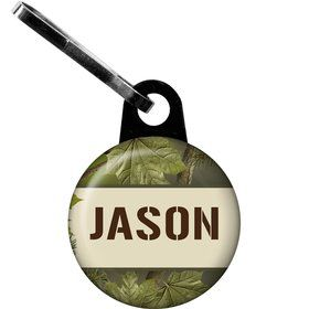 Camo Personalized Mini Zipper Pull (each)