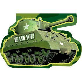Camo Thank You Notes (6 Pack)