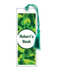 Camouflage Personalized Bookmark (each)