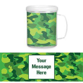 Camouflage Personalized Favor Mugs (Each)